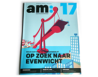 Editorial (cover)illustration for am:magazine