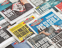 Libération Newspaper   Custom Typefaces