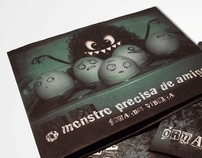 O Monstro Precisa de Amigos - CD Cover