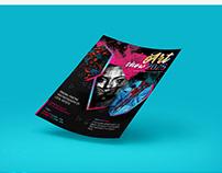 Art Show Flyer Template
