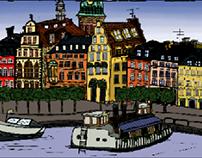 illustration   Stockholm, 2015