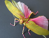 Giant Grasshopper Paper Insect