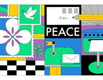 """2020""""南京·和平城市""""邮品展视觉设计"""