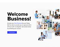 Fora Financial App design