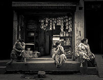 The Back Streets of Kathmandu...