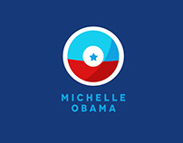 Logo Concept for Michelle Obama' 2020.