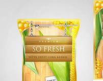 SO FRESH | Corn Kernel product Packaging Development
