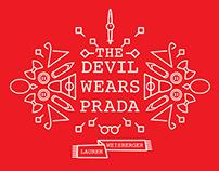 The Devil Wears Prada • Book Cover Design