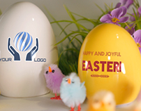 Easter Greeting - Digital signage - After Effects templ