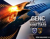 Hava Kuvvetleri Genç Kartallar Haftası 2015 Posteri