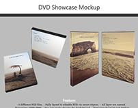 DVD Showcase Mock-up