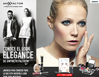 Max Factor - Beauty Tips Facebook Tab