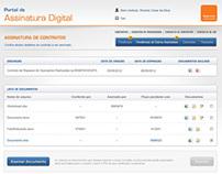 Itaú / Assinatura Digital