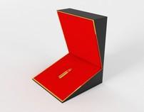 """""""Grankulla Gold"""" perfume packaging"""
