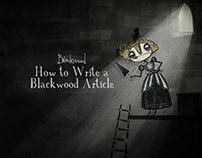 How to Write a Blackwood Article (graduation film)