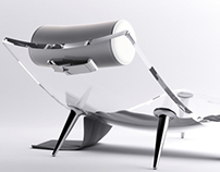 Air Chaiselongue Design Concept