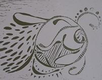 Sea Turtle Doodle
