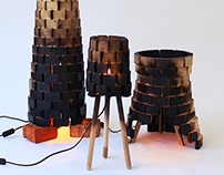 Wood:burn chimney lights