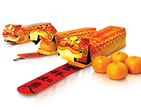 Liondance Packaging for Chinese New Year
