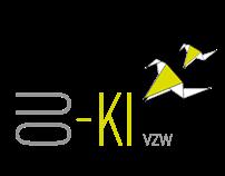OU-KI vzw logo and website