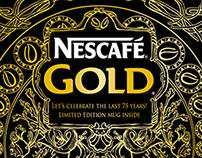 NESCAFÉ GOLD 75th Anniversary Gift Box Design