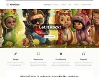 NewGate, WordPress Premium Agency Business Theme