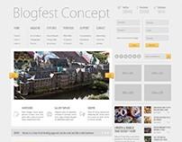 Blogfest, WordPress Magazine News Blog Theme