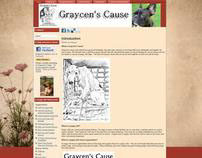 Web Design: Graycen's Cause