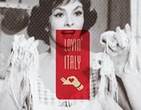 lovin'Italy Brand Identity