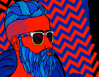Beard & Chevron Pattern