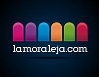 Lamoraleja.com RE-logo