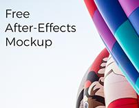 Free AE iMac Mockup