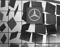 Mercedes-Benz NL – Building wrap