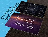 FREE Pocket Calendar MockUp