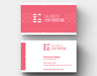San Francisco Event Productions Identity