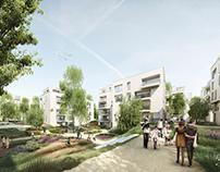 Neus Stadtquartier an der Poppelsforfer Allee, Bonn
