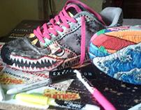 Shoe Creative Explosion