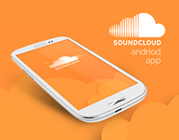 SoundCloud android app re-design