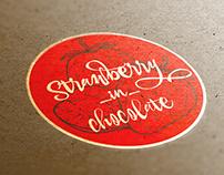 Stowberryinchocolate logotype design