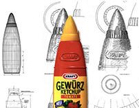 Ketchup Bottle for KRAFT