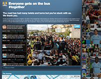 MCFC. On The Bus