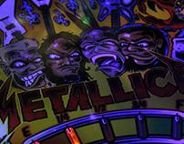 Stern Metallica Pinball Launch Promo