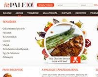 fitPaleo webshop