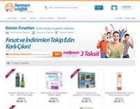 hemensaglik.com e-commerce banner
