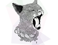 Sleepy Animals Illustrations