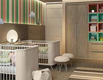 Dormitório Baby |  Baby Room | Idélli 2016