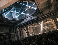 Gamma Festival - Kinematic Laser Installation