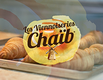 "BRANDING FRENCH BAKERY ""LES VIENOISERIES CHAIB"""