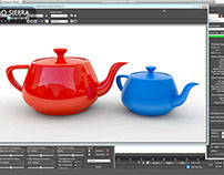 Tutorial 3DS MAX  Mental ray + hdri + ambient occlusion