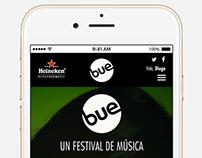 Heineken - Festival BUE Mobile